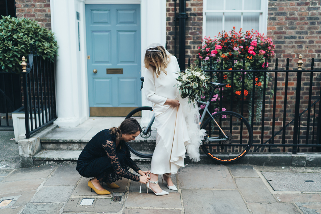 creative reportage wedding photographer london