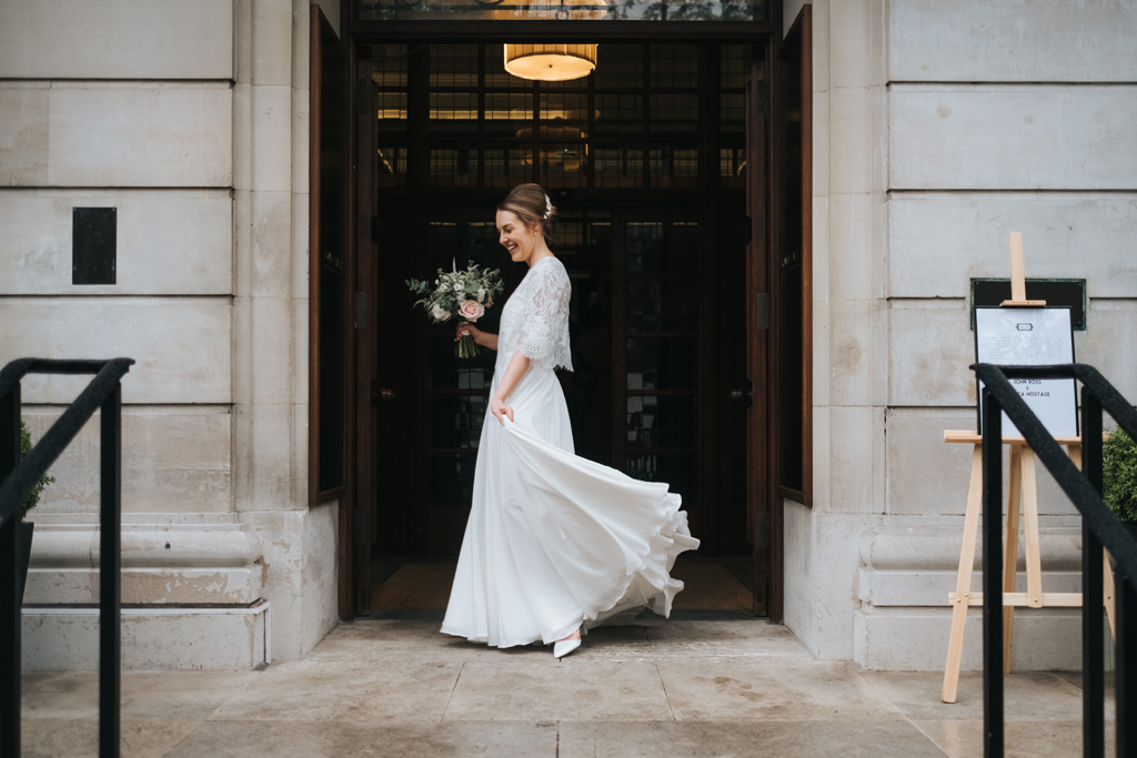 contemporary wedding photographer london