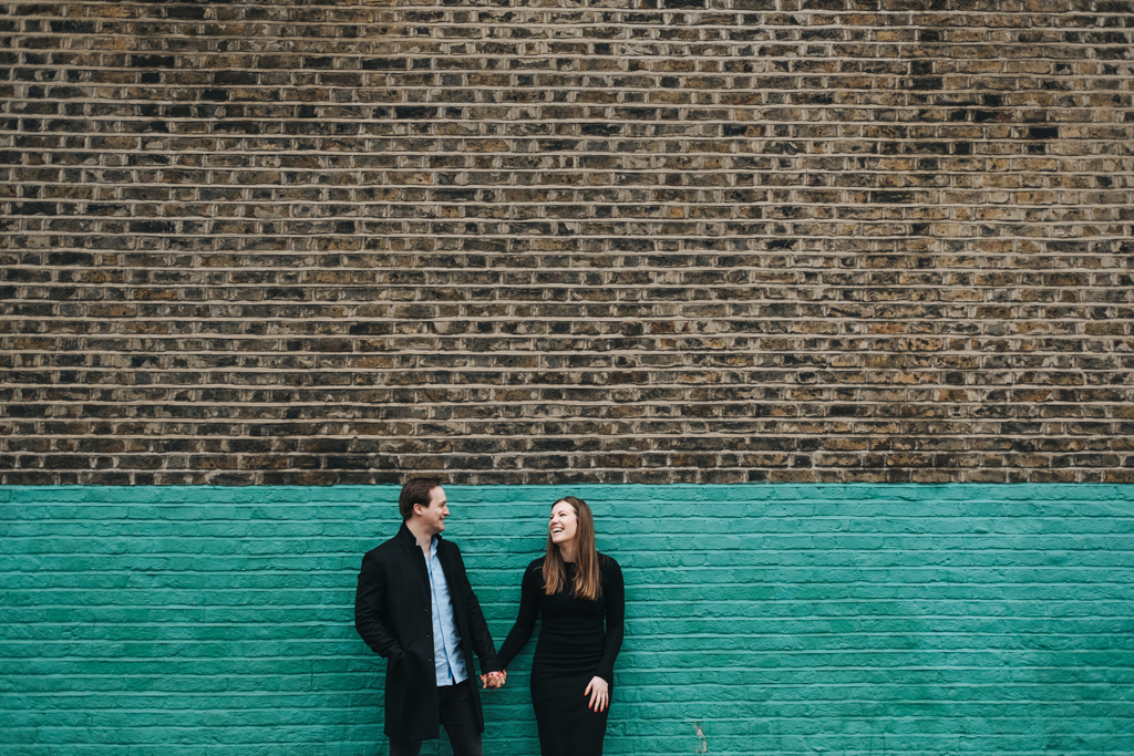 modern london engagement photographer