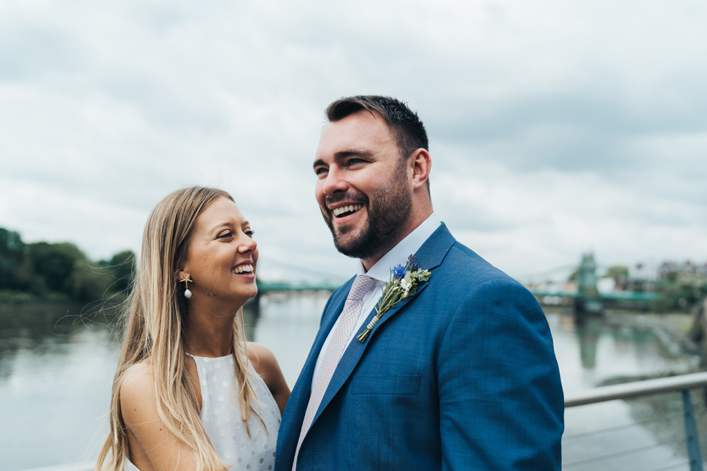 modern city wedding photography