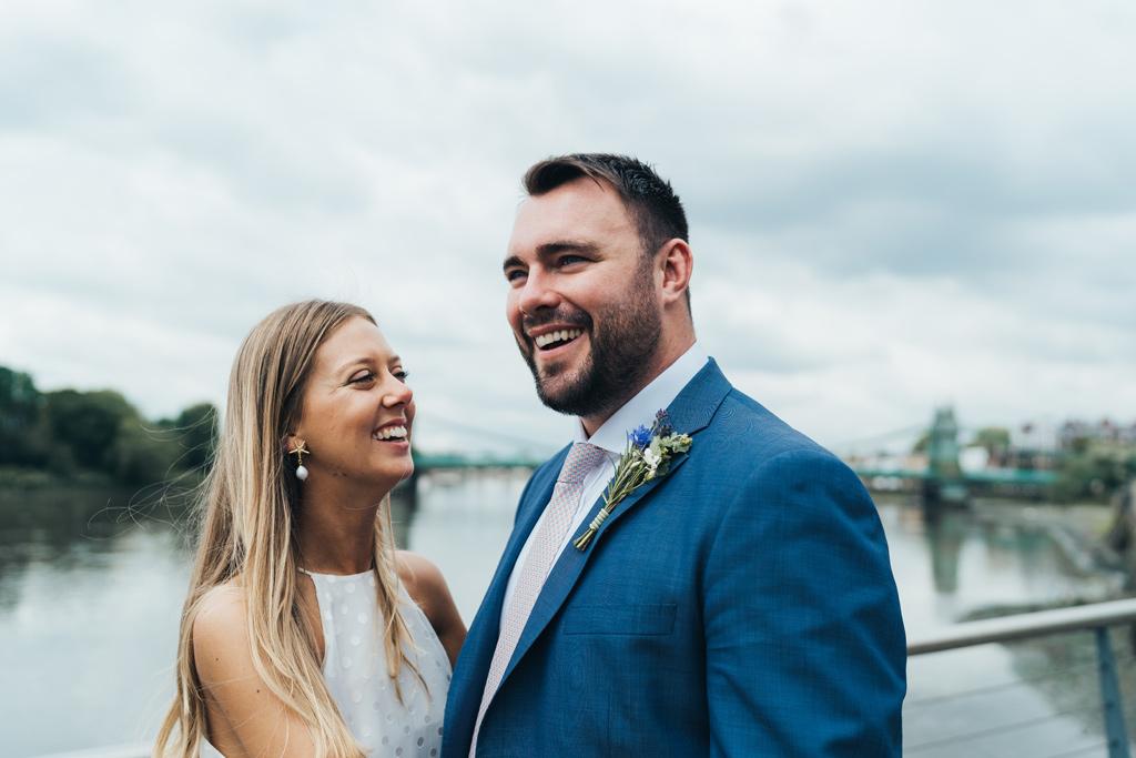 modern city wedding photography