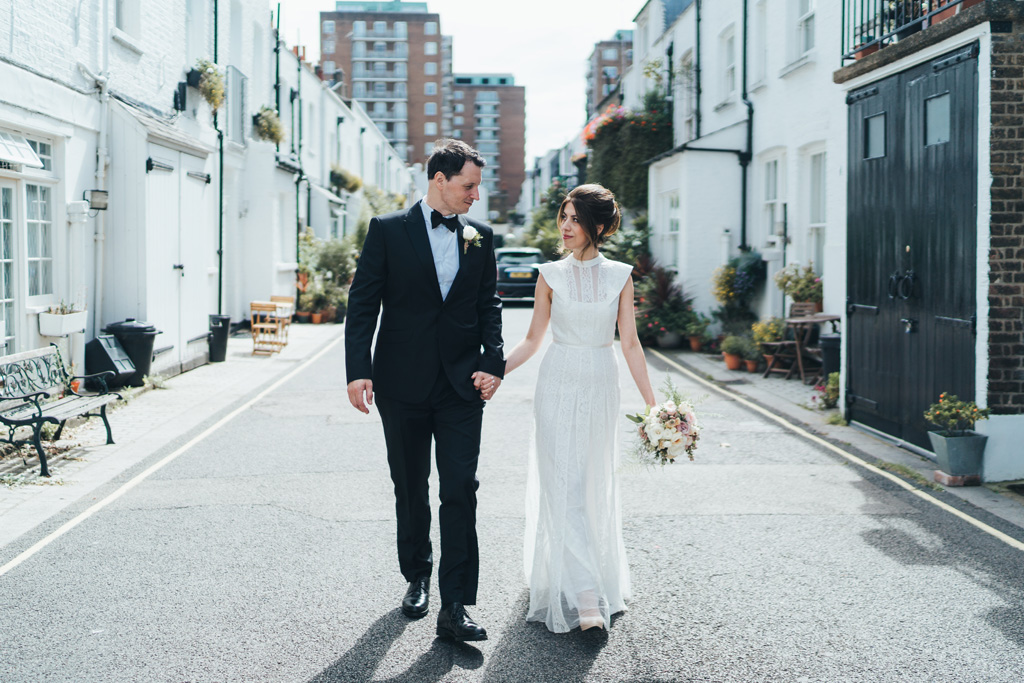 black tie london wedding