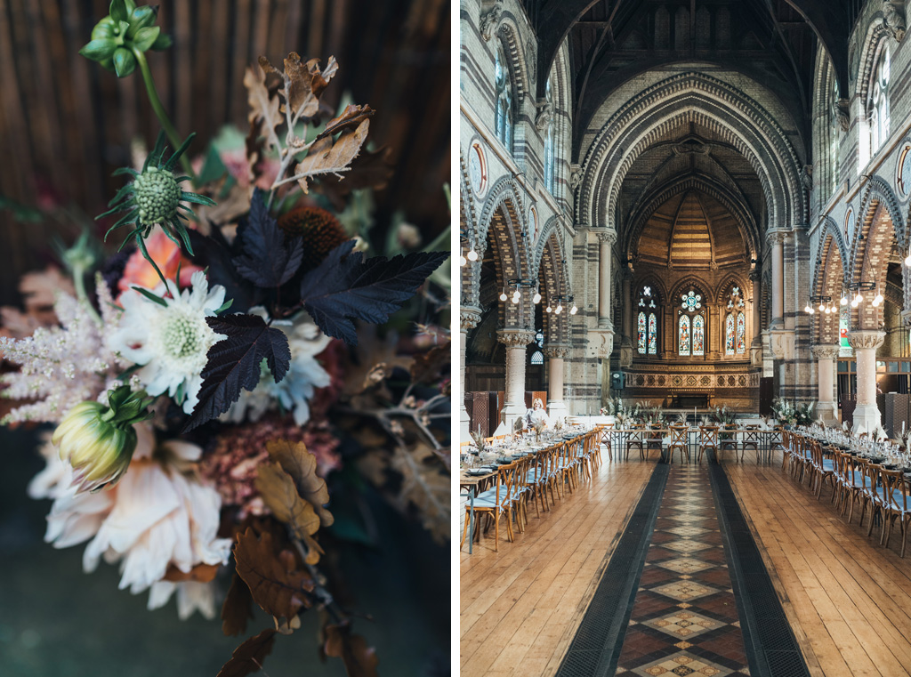autumn wedding hampstead london
