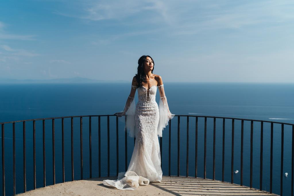 beautiful amalfi coast wedding