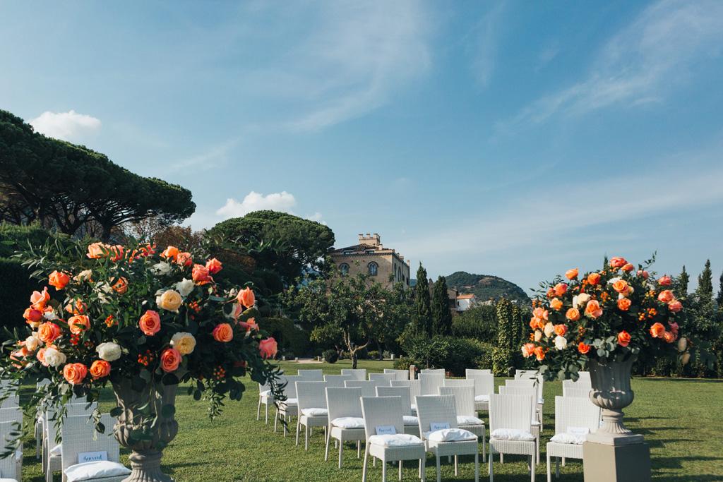 villa cimbrone ravello wedding