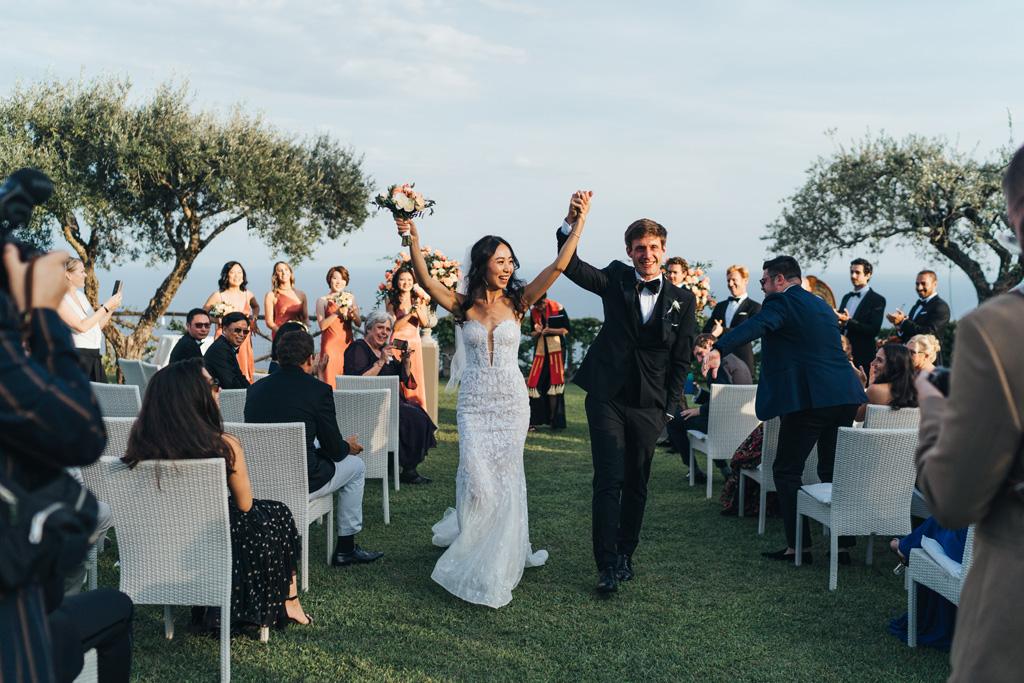 natural relaxed wedding photos ravello