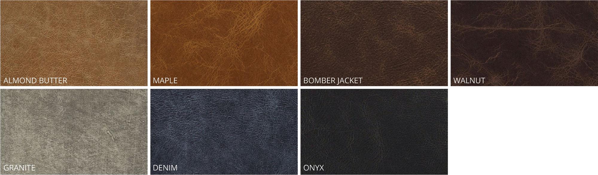 Album swatch rustic leather