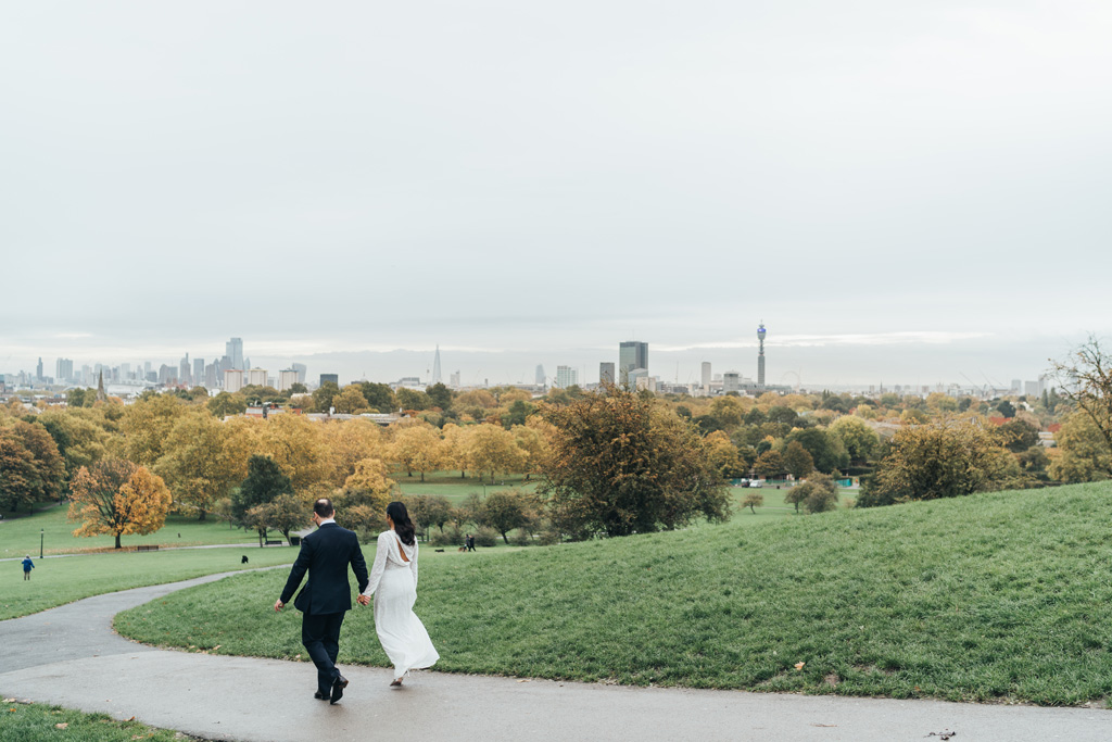 autumn wedding london