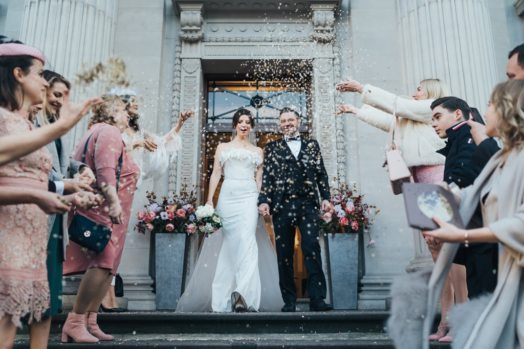 london intimate wedding marylebone