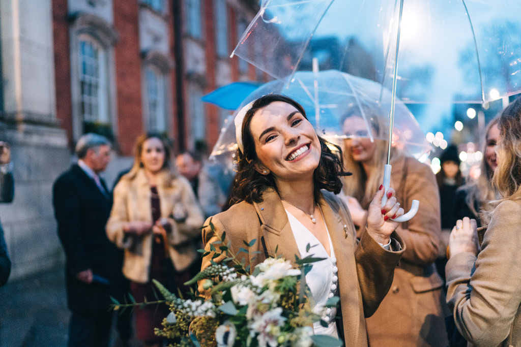 intimate london wedding