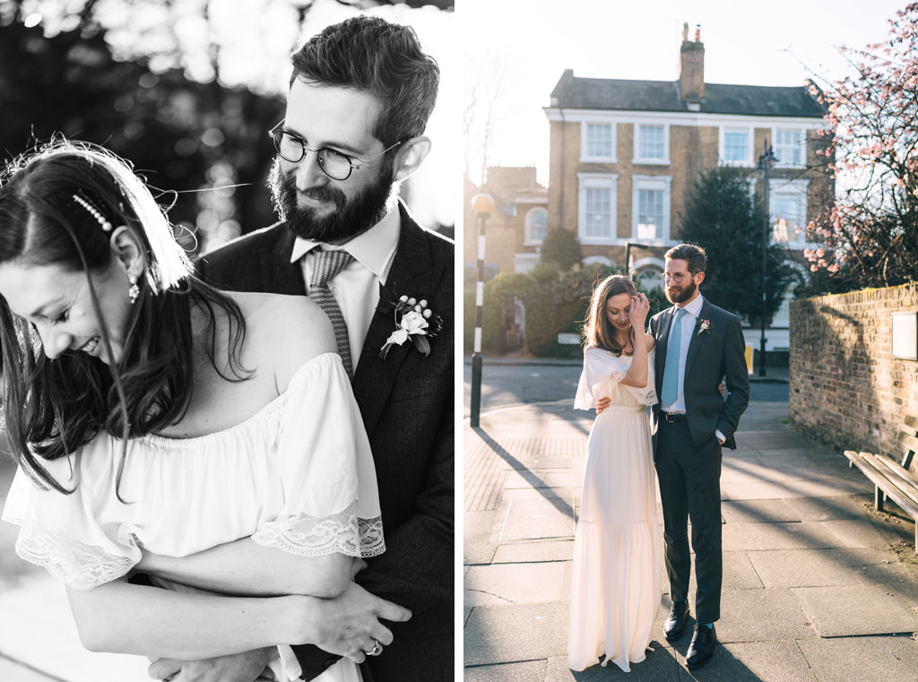 modern london wedding photographer