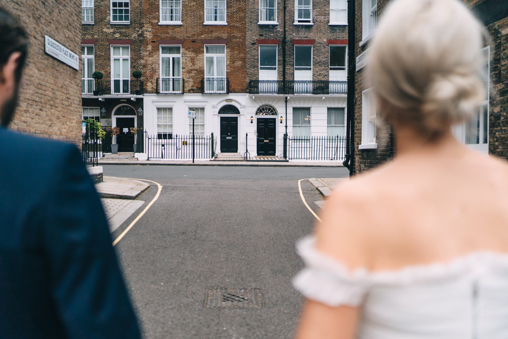 romantic london elopement