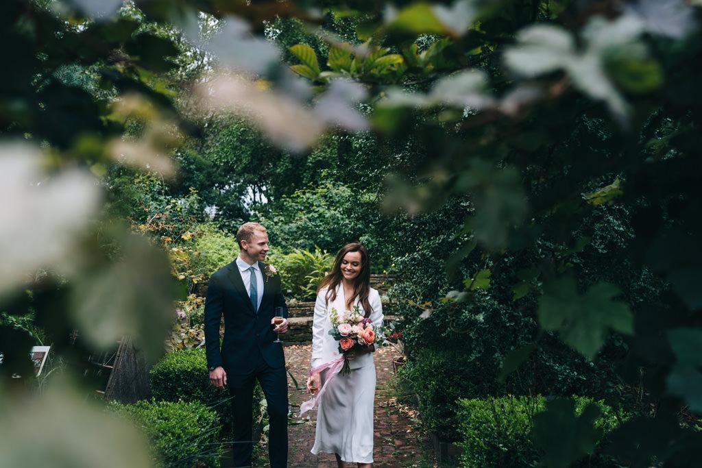 chelsea physic garden elopement
