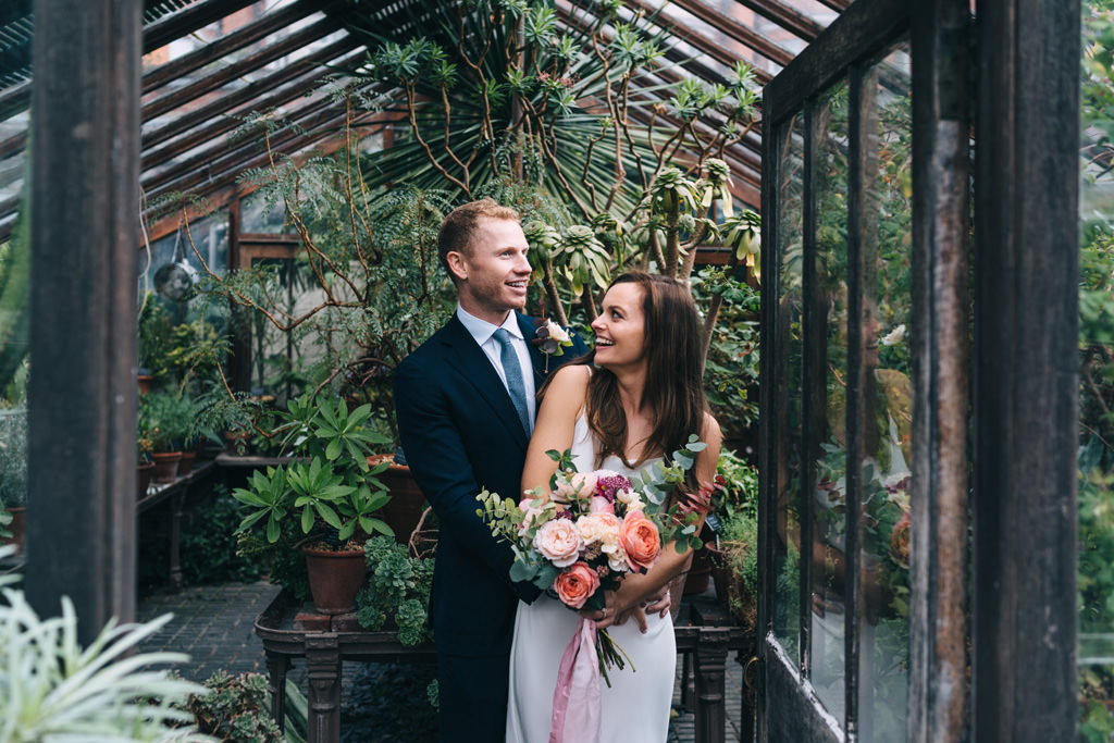 modern romantic wedding london