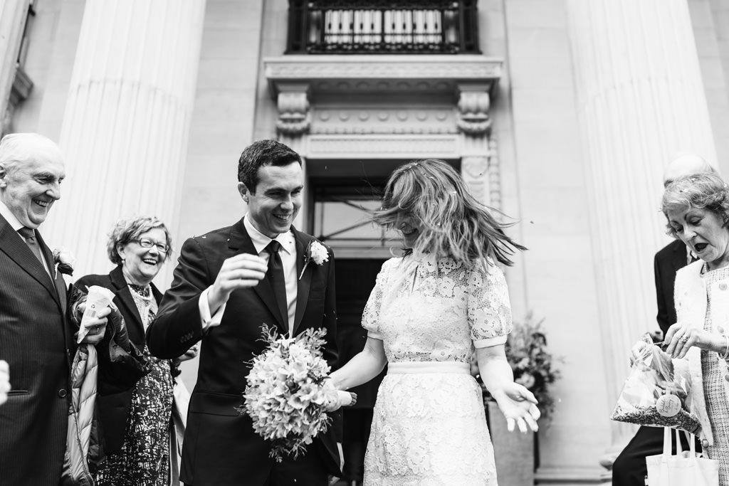 reportage wedding photographer london