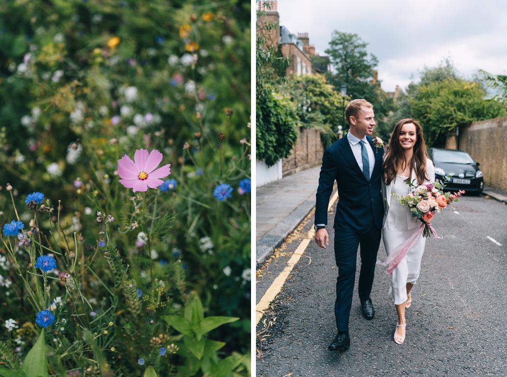 intimate london wedding chelsea