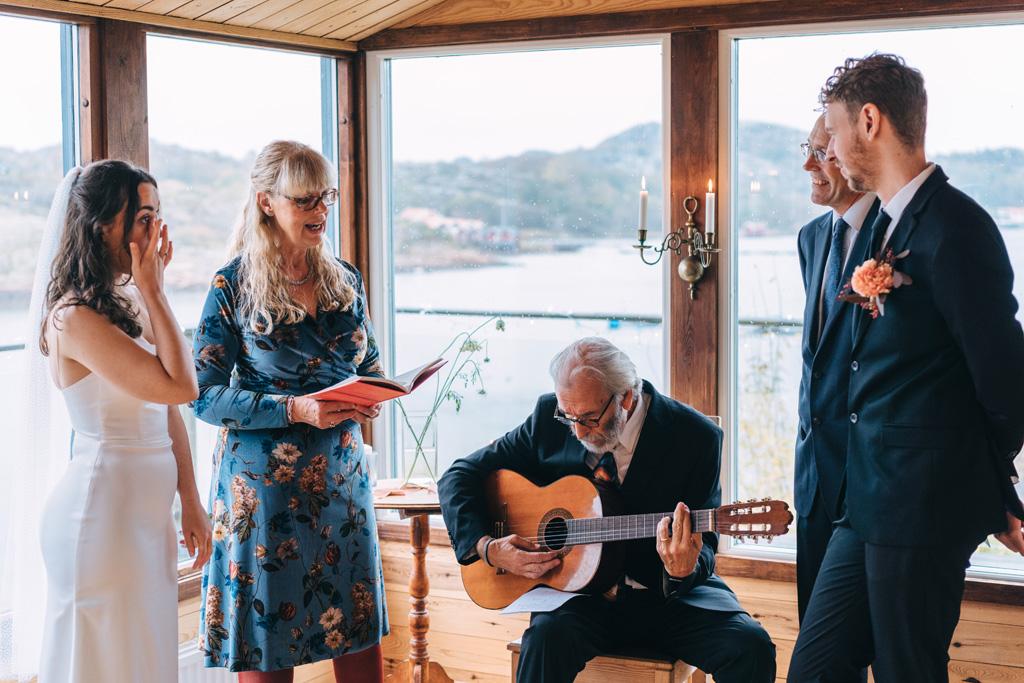 intimate destination wedding sweden