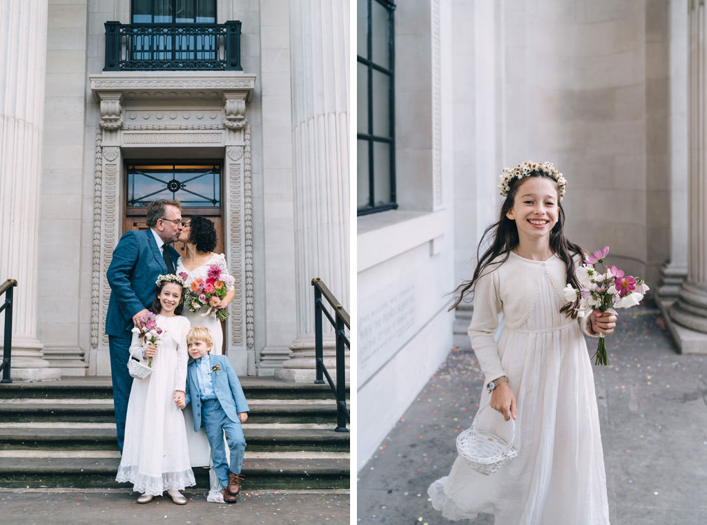 intimate london wedding marylebone