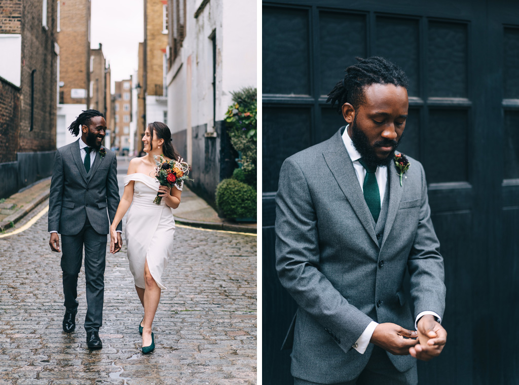 relaxed london elopement