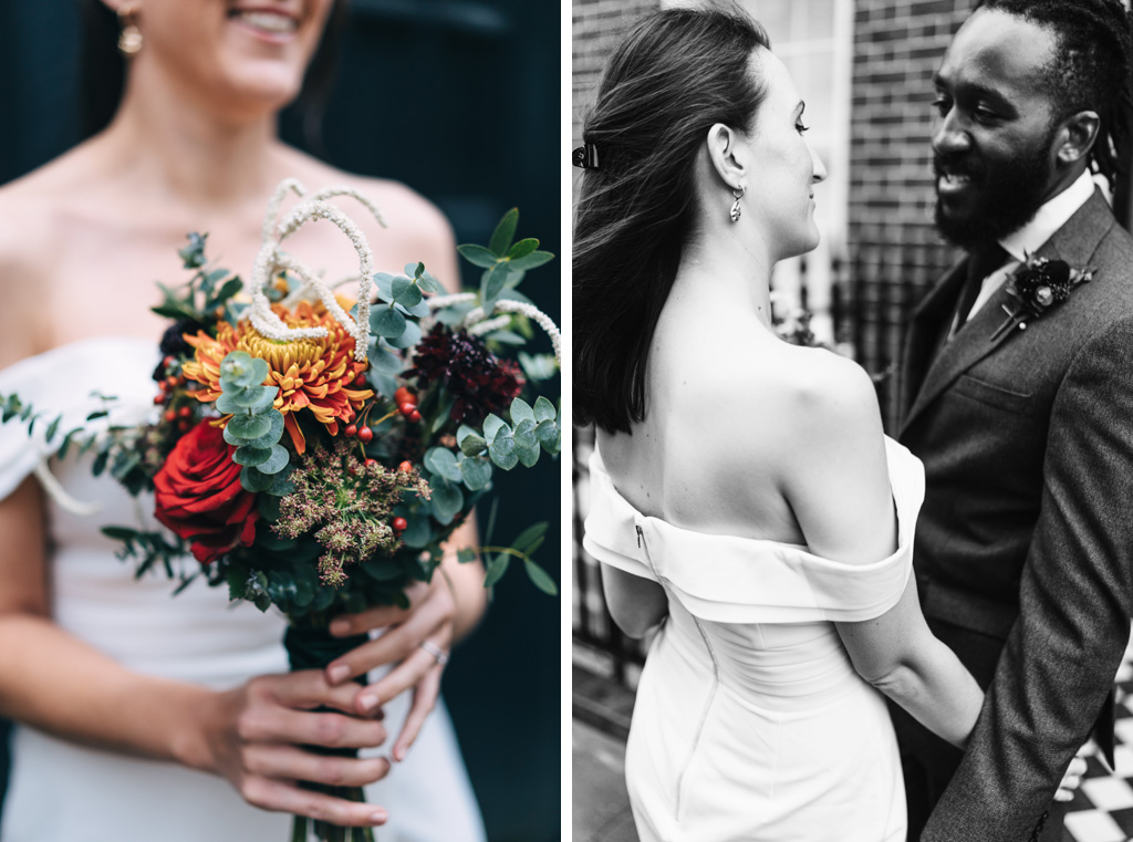 modern romantic wedding london