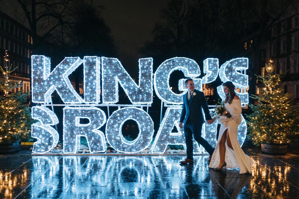 london winter elopement