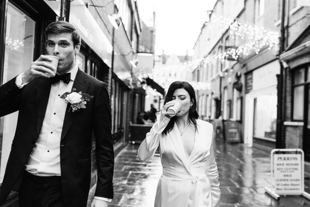 relaxed london elopement