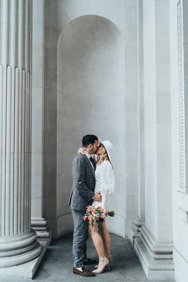 Marylebone Town Hall elopement