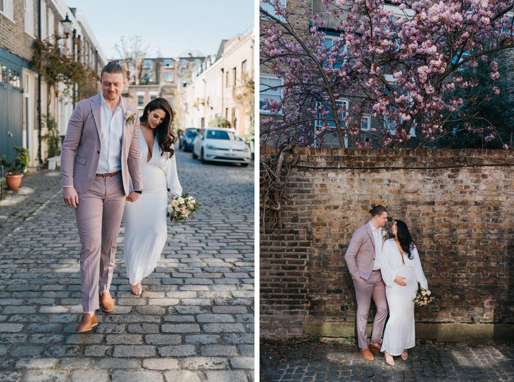 london spring elopement