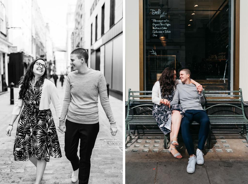 london city elopement