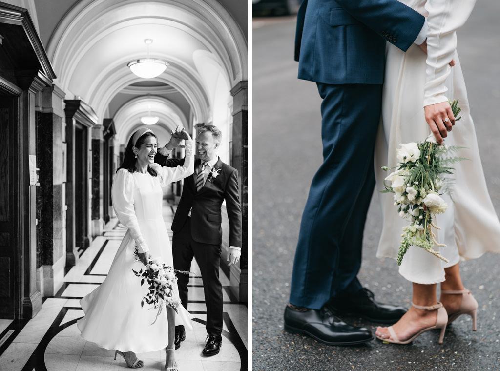 modern london elopement 1