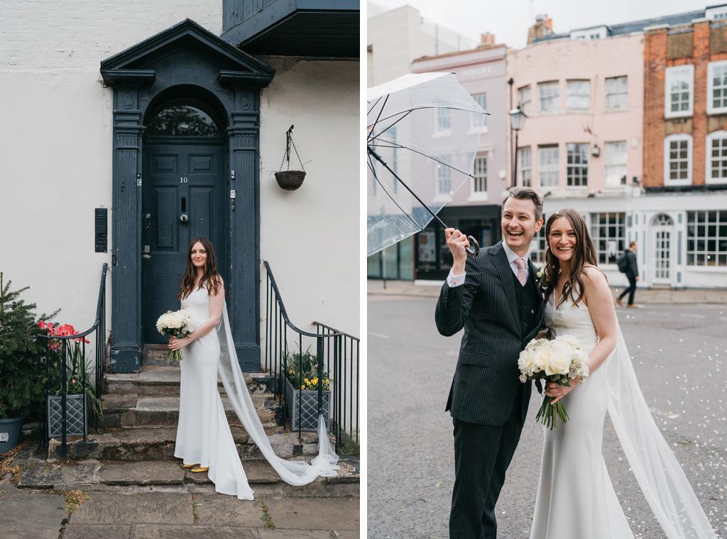 modern london elopement