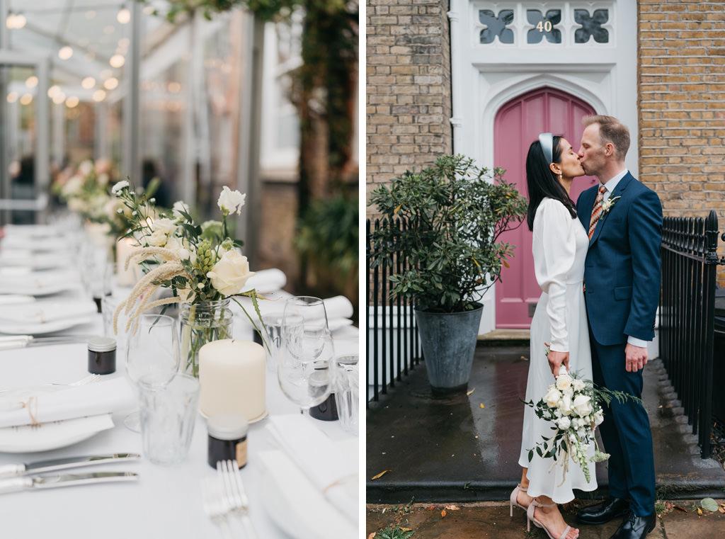 intimate wedding london
