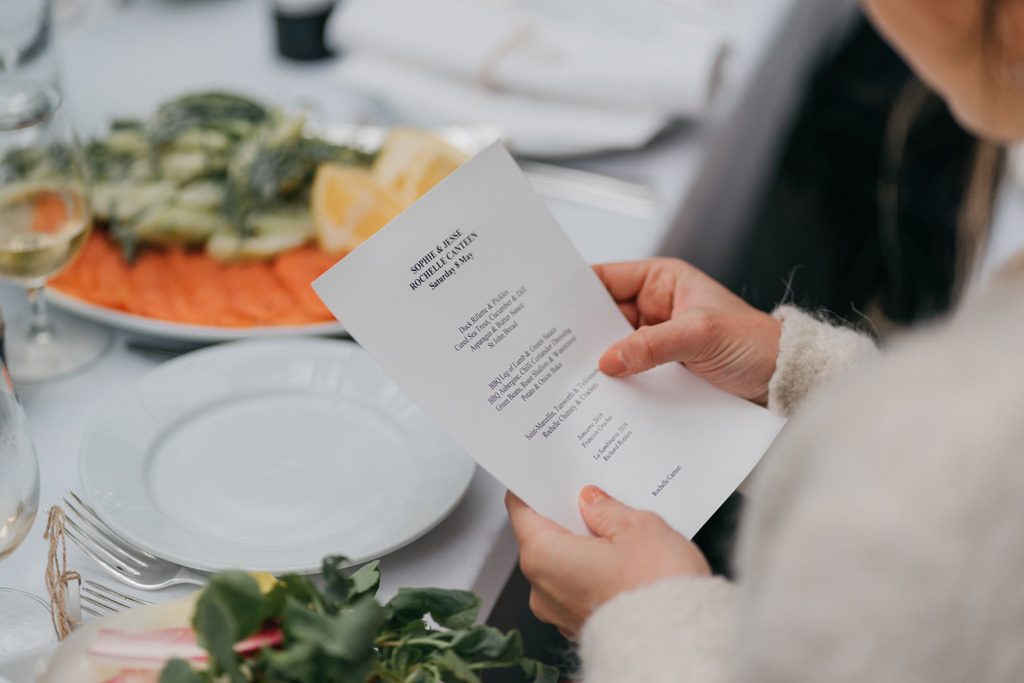 intimate wedding reception london