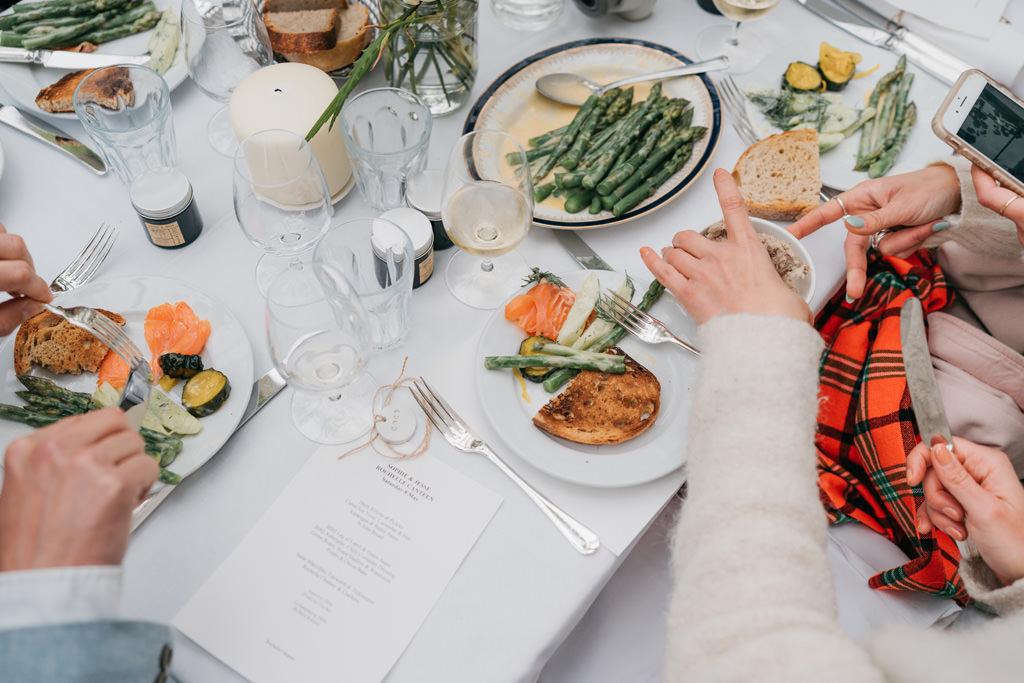 rochelle canteen wedding reception