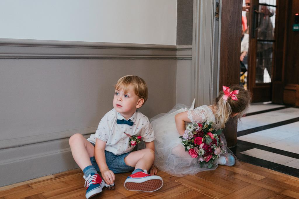 intimate london wedding marylebone