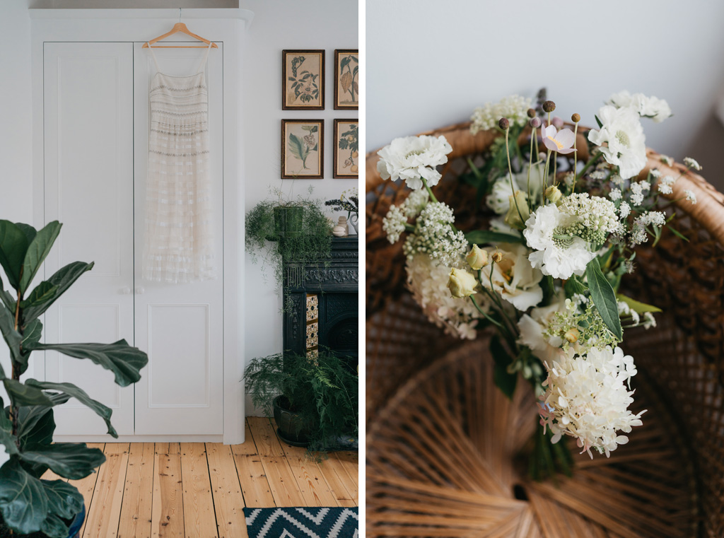 botanical wedding details