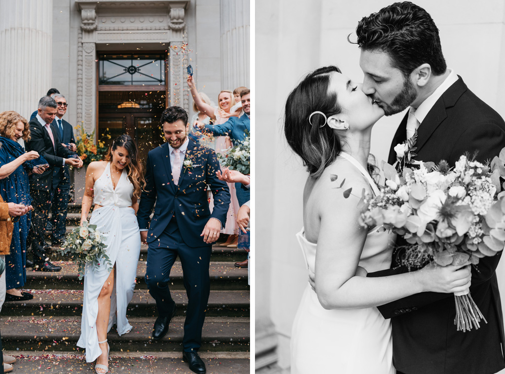 modern romantic elopement photographer
